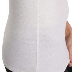 Dames T-shirt voor gym en pilates, slim fit - 880318