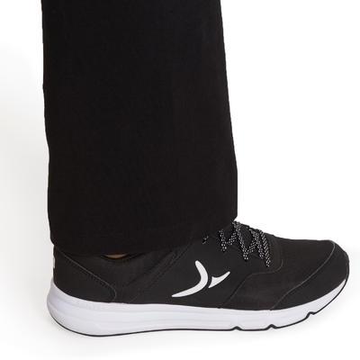 Leggings fitness mujer FIT+ regular negro