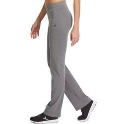 Dameslegging FIT+ voor gym en pilates, regular fit - 880337