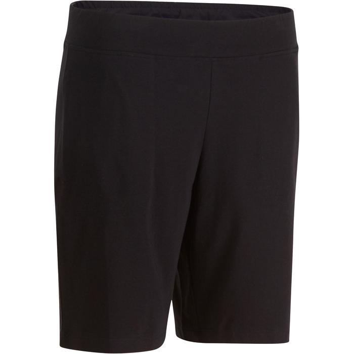 Short FIT+ 500 regular Gym & Pilates femme noir - 880340