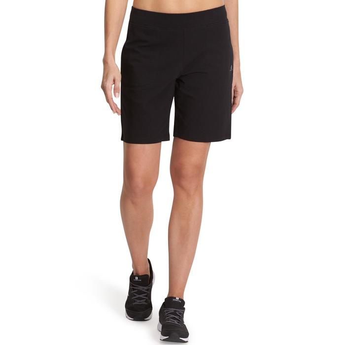 Short FIT+ 500 regular Gym & Pilates femme noir - 880341