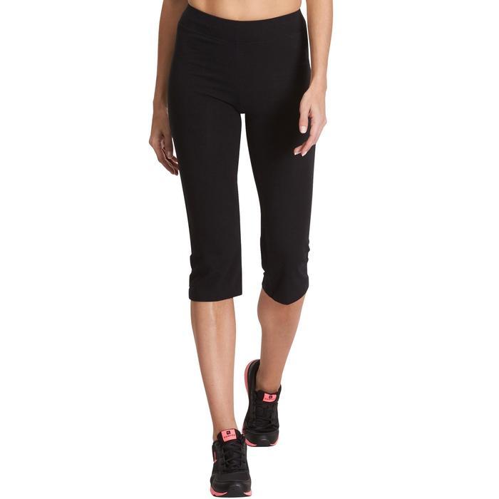 Corsaire FIT+ 500 regular Pilates Gym douce femme noir