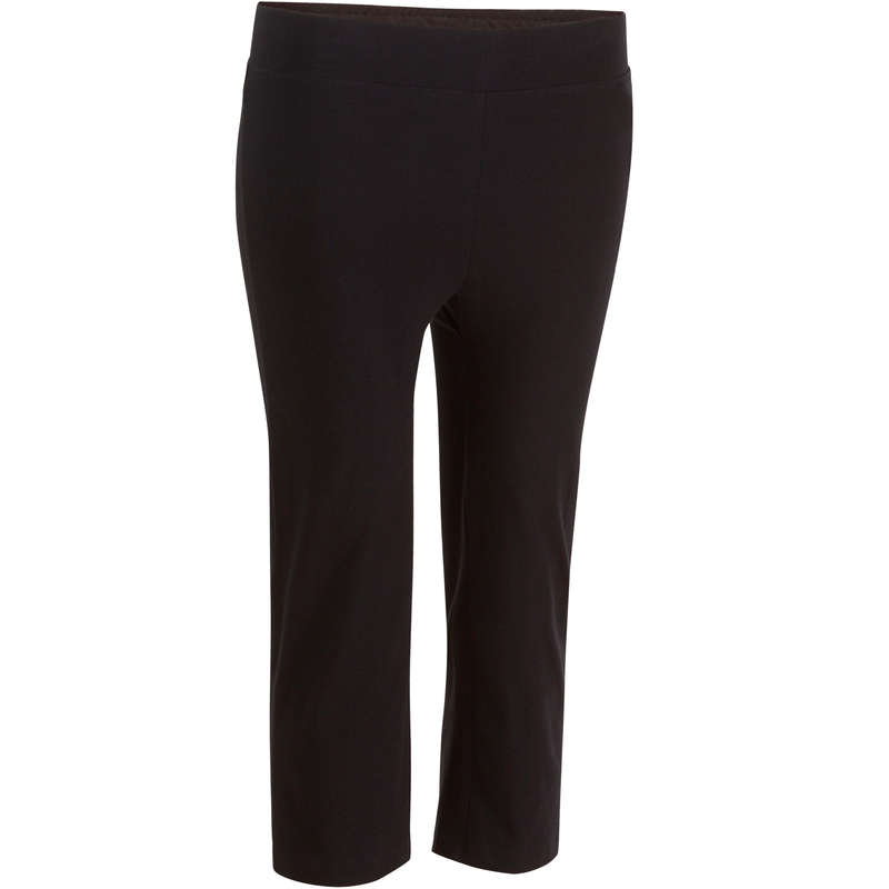 WOMAN T SHIRT LEGGING SHORT Fitness and Gym - Fit+ 500 Gym Cropped Bottoms DOMYOS - Gym Activewear