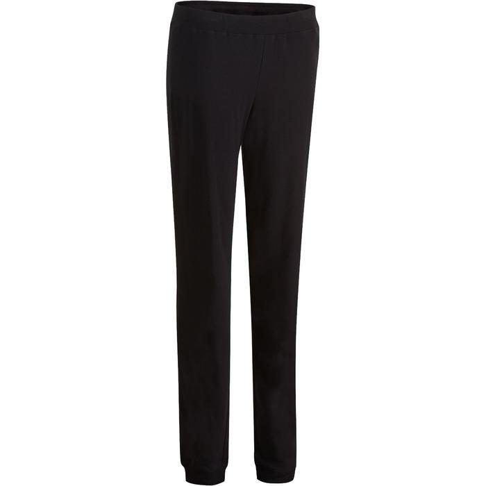 Pantalon 100 regular Gym Stretching femme - 880366