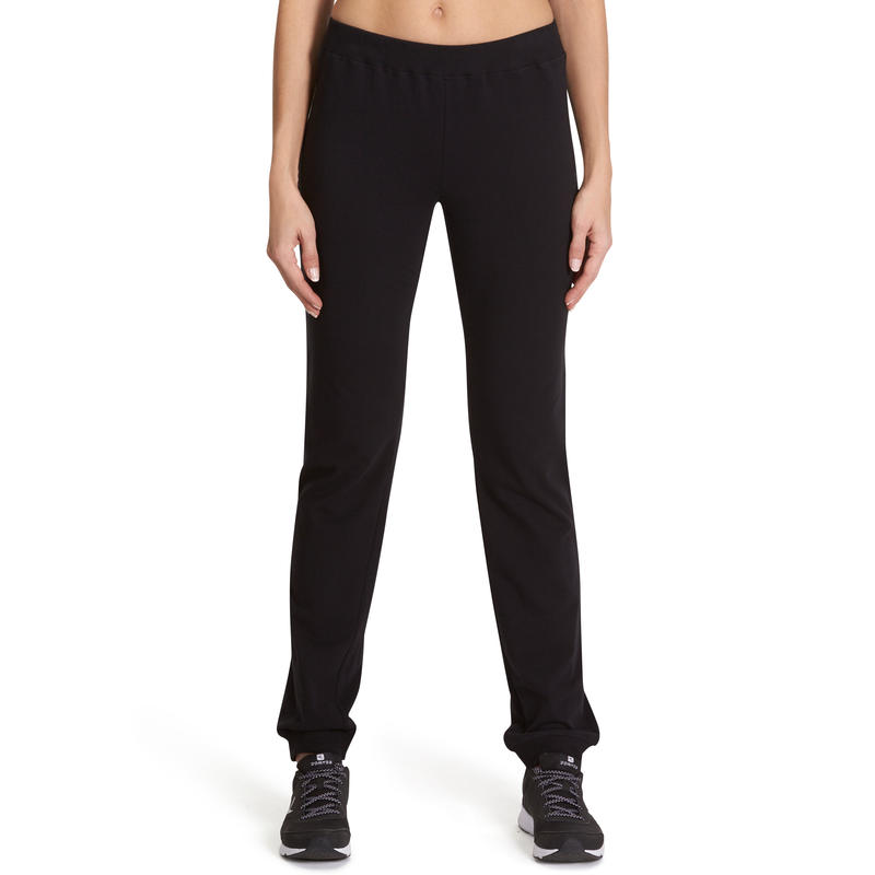 100 Women's Stretching Regular Bottoms - Black