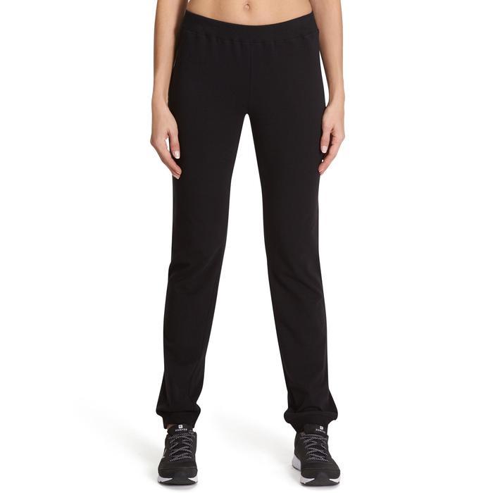 Pantalon 100 regular Gym Stretching femme - 880368