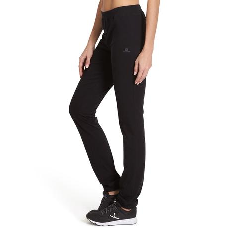 Pantalon 100 regular Gym Stretching femme noir. Previous. Next b82ca8c3b16