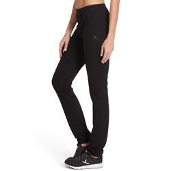 Damesbroek Fit+ voor gym en pilates, regular fit - 880374