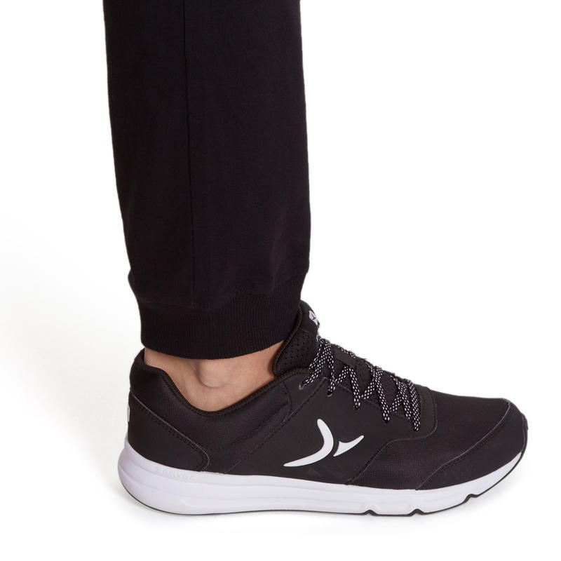 Fit+ Women's Regular Gym & Pilates Bottoms - Black