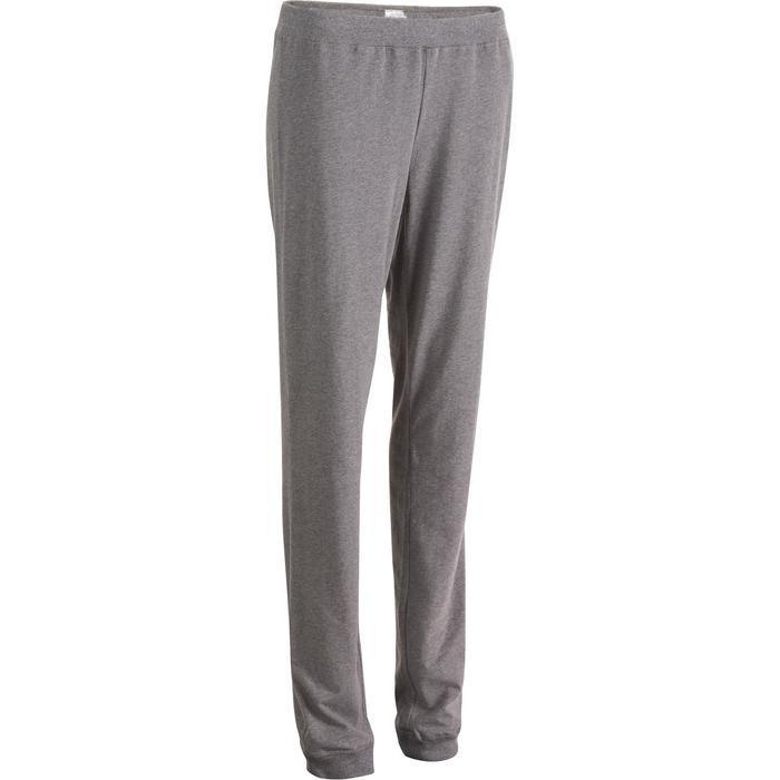 Pantalon 100 regular Gym Stretching femme - 880379