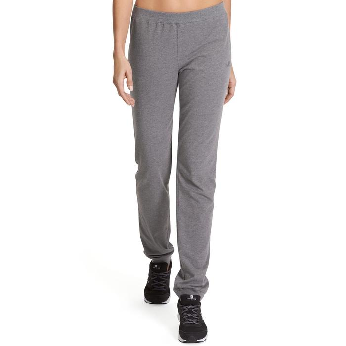 Pantalon 100 regular Gym Stretching femme - 880384