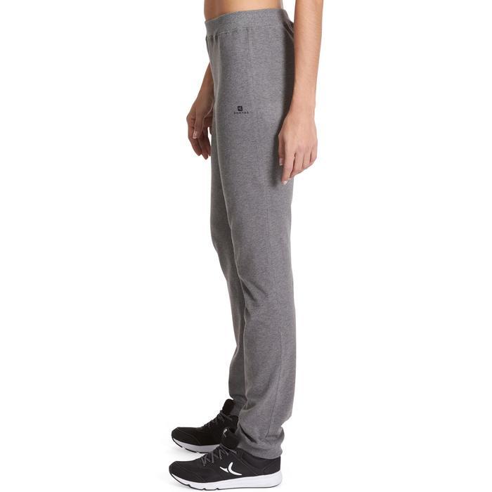 Pantalon 100 regular Gym Stretching femme - 880388
