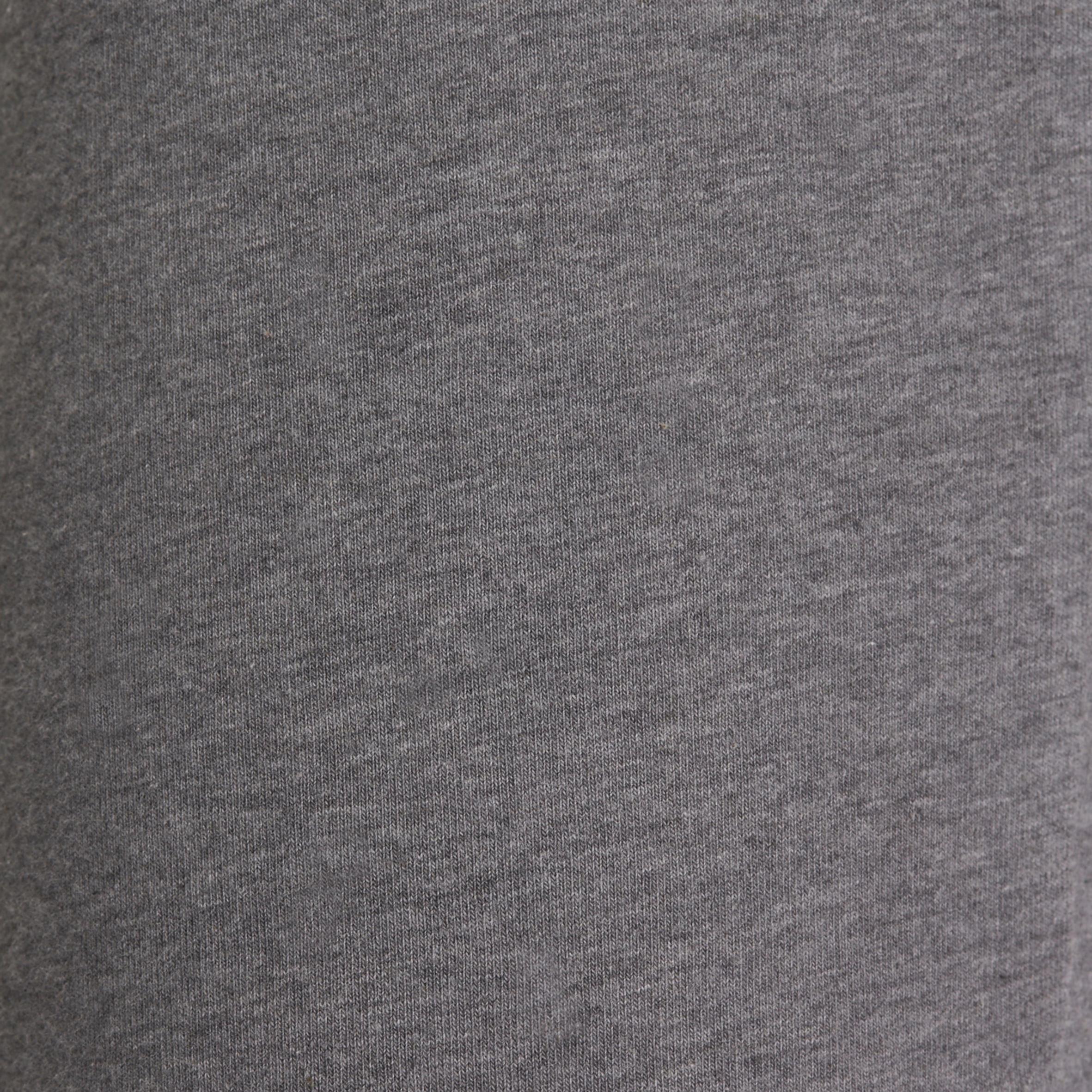 Pantalon FORME+ 500 régulier Gym et Pilates femme gris chiné moyen