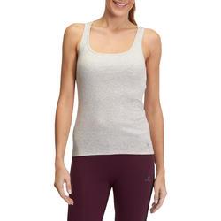 Topje voor gym & pilates dames gemêleerd - 880414