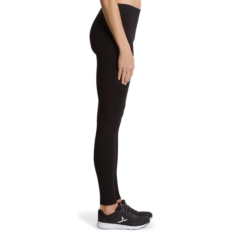 100 Salto Women's Slim-Fit Stretching Leggings - Black