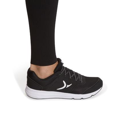 Leggings fitness mujer FIT+ SALTO negro