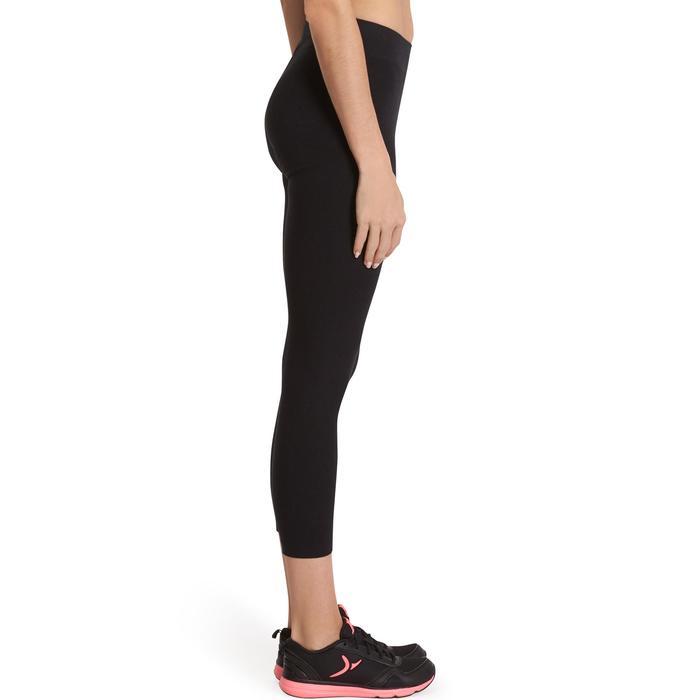 Legging 7/8 FIT+ 500 slim Gym & Pilates femme noir - 880486
