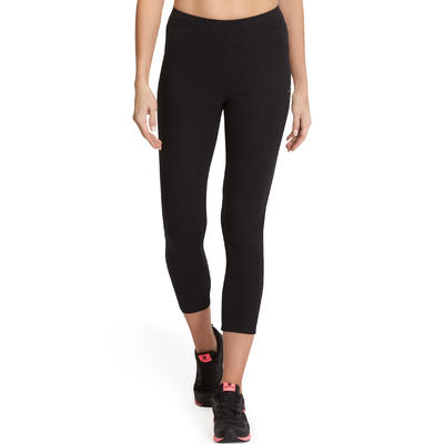 FIT + 500 טייץ slim Stretching לנשים - שחור