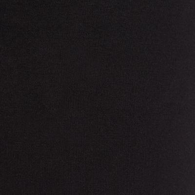 بنطلون ضيق Fit+ لتمارين الجيم والبيلاتس - أسود