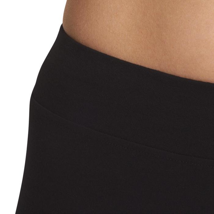 Legging 7/8 FIT+ 500 slim Gym & Pilates femme noir - 880501