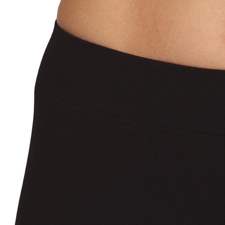 Mallas 3/4 FIT+ slim fitness mujer negro