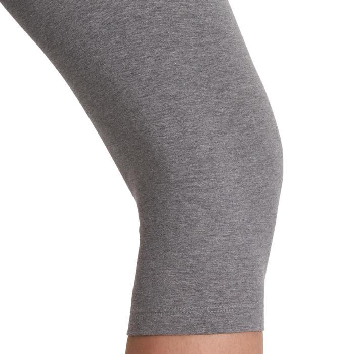 Corsario slim gimnasia y pilates mujer gris FIT+