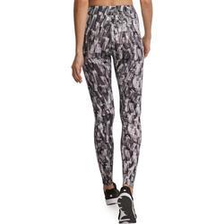 Dameslegging Fit+ voor gym en pilates, slim fit - 880560