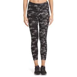 7/8-legging FIT+ voor dames, voor gym en pilates, slim fit - 880600