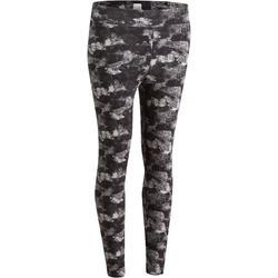 7/8-legging FIT+ voor dames, voor gym en pilates, slim fit - 880603