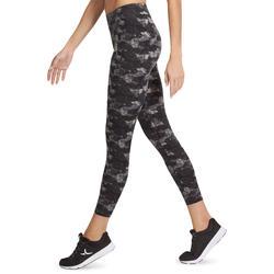 7/8-legging FIT+ voor dames, voor gym en pilates, slim fit - 880607