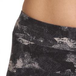 7/8-legging FIT+ voor dames, voor gym en pilates, slim fit - 880610