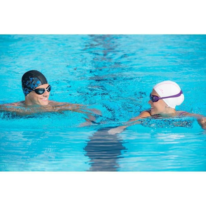泳鏡100 XBASE,L號 - 黑色