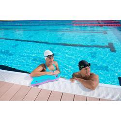 Schwimmbrille Easydow 100 S blau/weiß