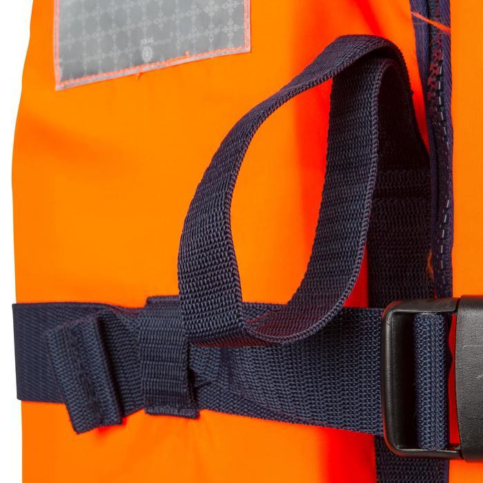 Gilet de sauvetage mousse adulte TYPHON 150N orange - 881011