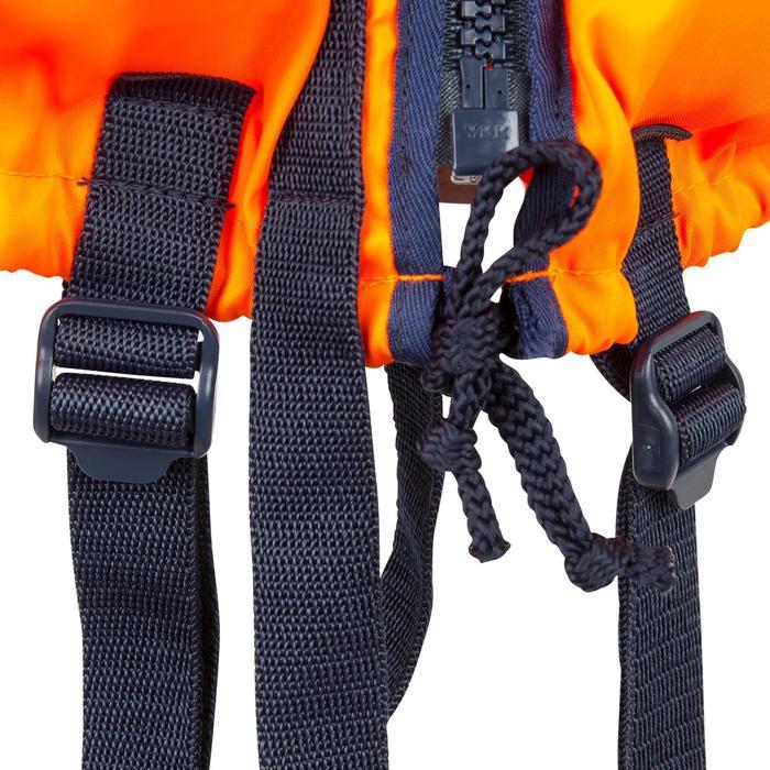 Gilet de sauvetage mousse adulte TYPHON 150N orange - 881012
