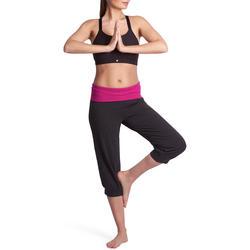 Yoga kuitbroek in biokatoen voor dames - 881119