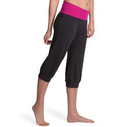 Yoga kuitbroek in biokatoen voor dames - 881121