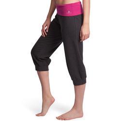 Yoga kuitbroek in biokatoen voor dames - 881122