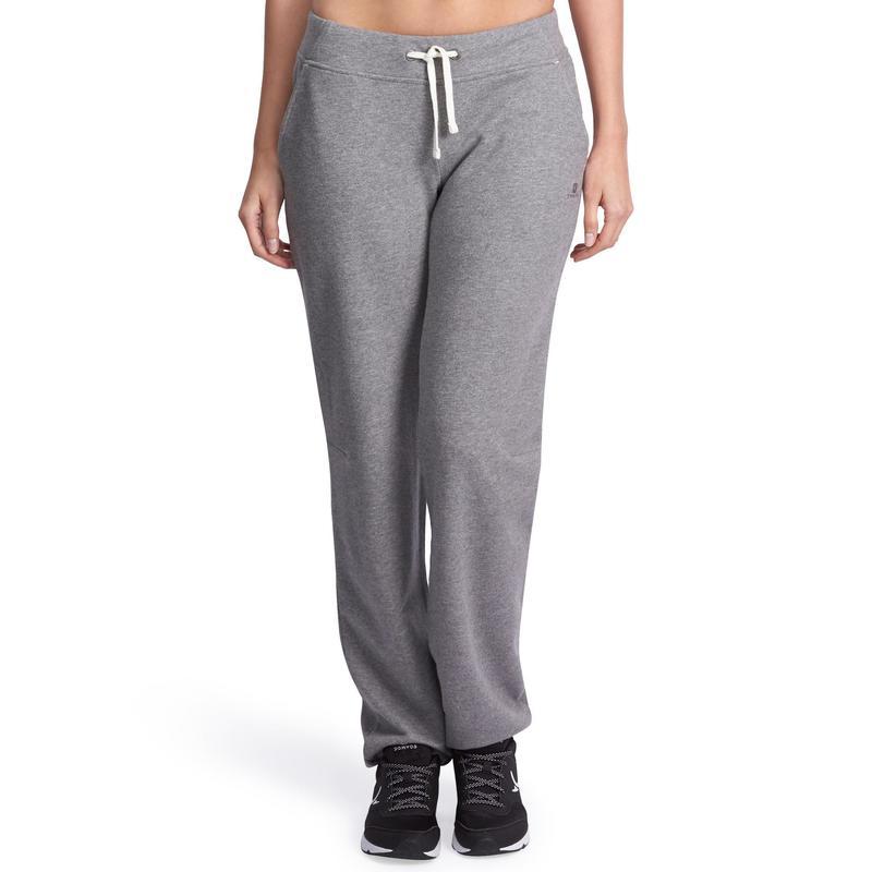 81a7180ff Calça de Ginástica e Pilates Feminina 500 Slim Domyos