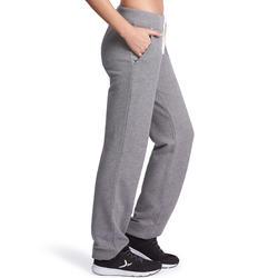 Damesbroek voor gym en pilates, regular fit - 881282