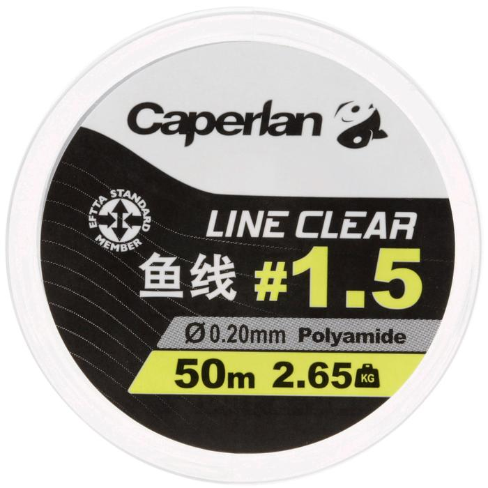 50m Clear Fishing Line