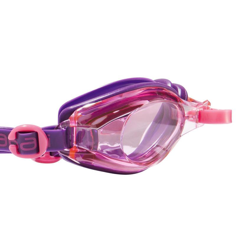 100 AMA Swimming Goggles, Size S Purple Pink