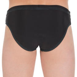 100 BOYS SWIMMING BRIEFS - BASIC BLACK