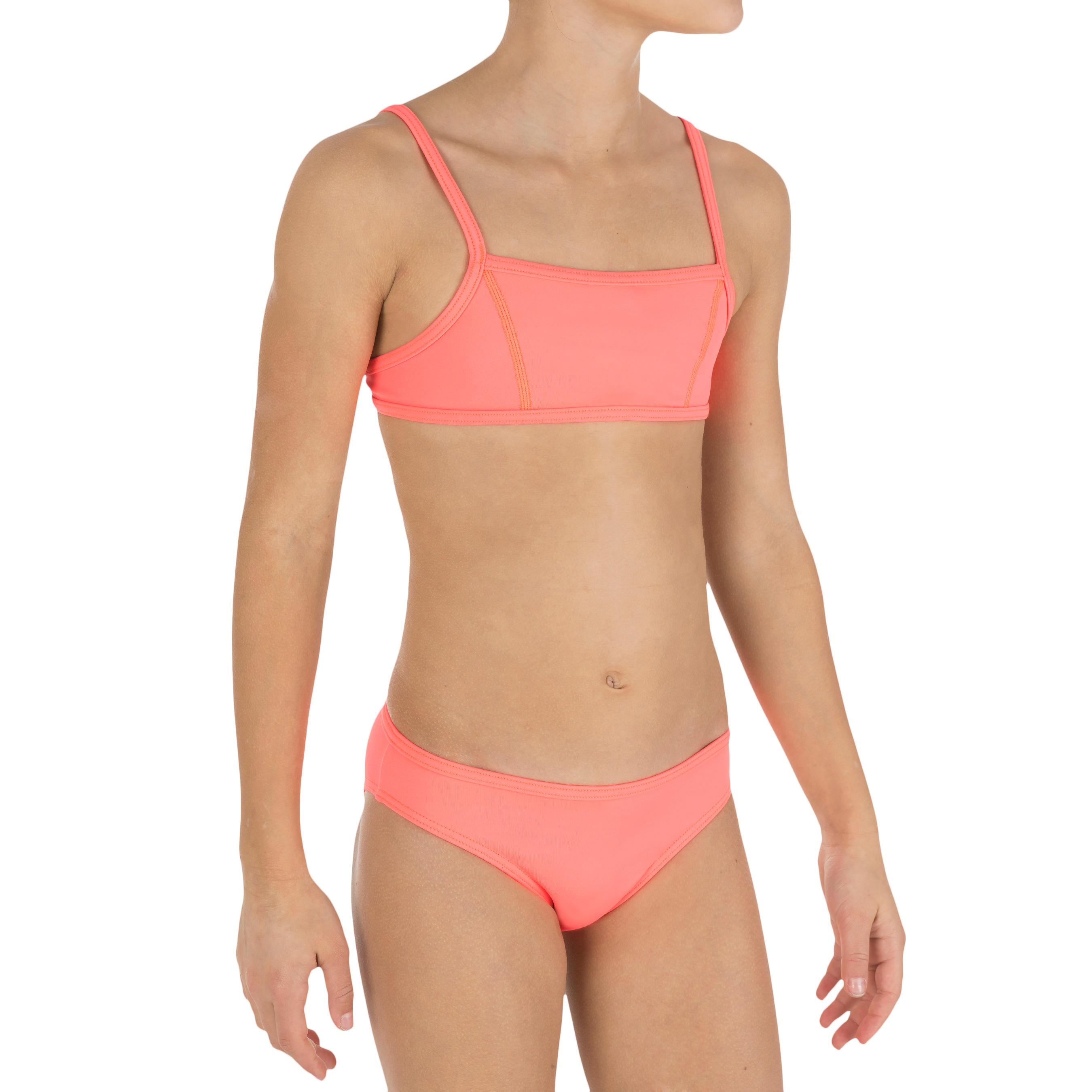 Bikini top-corpiño AG liso Granatina