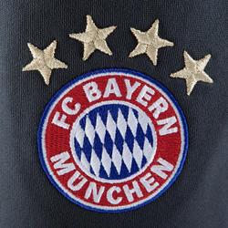 Trainingsbroek voor volwassenen, FC Bayern München grijs - 882164