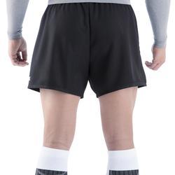 Rugbyshort volwassenen Full H 100 zwart