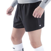 Short de rugby adulto Full H 100 negro
