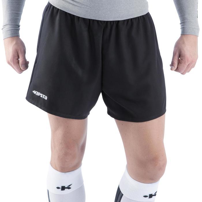 Short rugby adulte Full H 100 noir