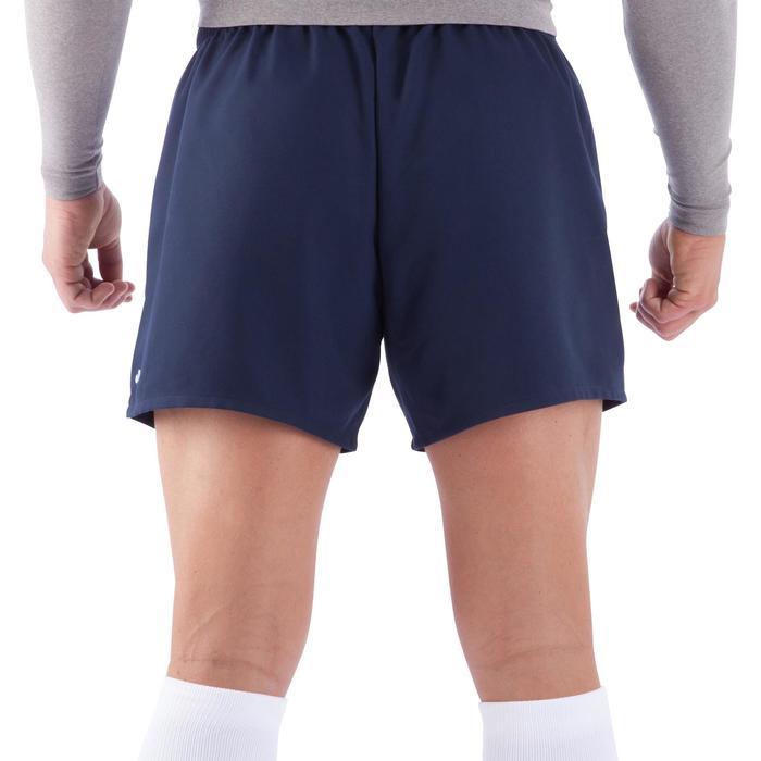 Rugbyshorts Full H100 Erwachsene blau