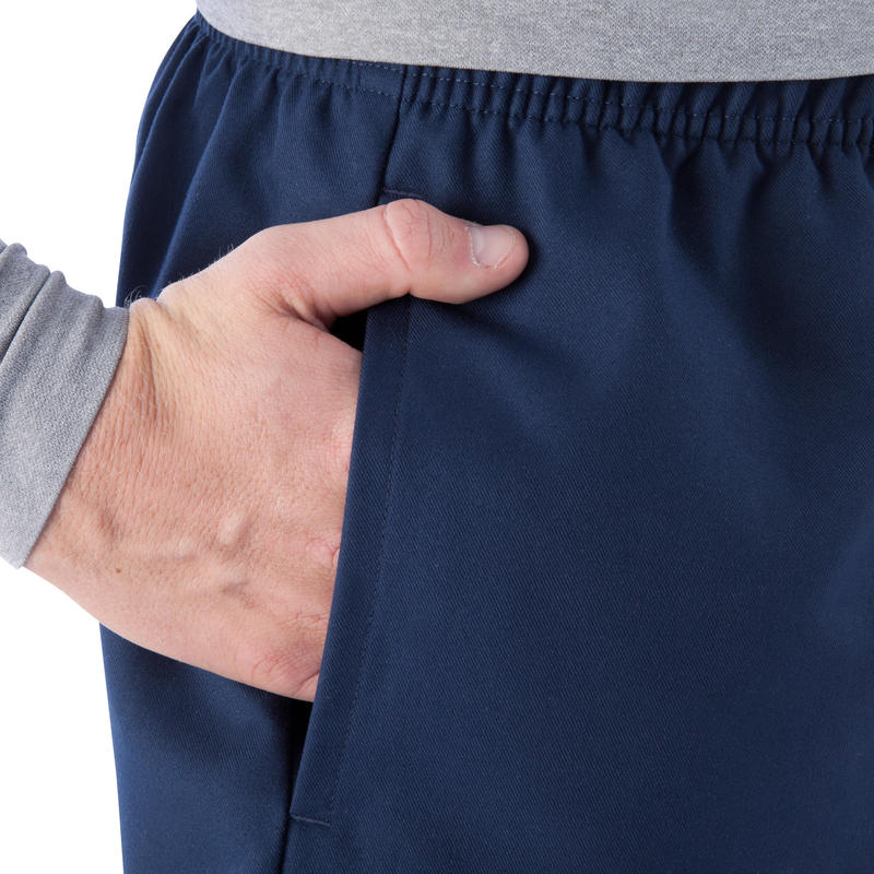 Full H 100 Adult Rugby Shorts - Blue